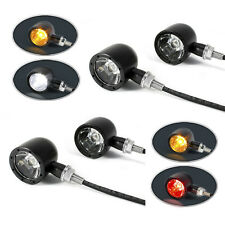 4 x Integrated LED Motorbike Indicators with Stop Tail Lights and Driving Lights