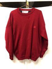 VTG Belika Windstopper Red Crewneck Sweater Mens Sz 52 The Windstopper Gore WS