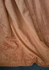 Cotton Blend Antique Style Floral Curtains