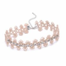 Fashion Gothic Chokers Vintage Flower Lace Choker Necklaces Jewelry