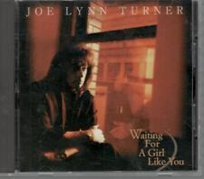 JOE LYNN TURNER, WAITING FOR A GIRL LIKE YOU; 3 TRACK CD SINGLE