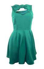 Vestiti da donna verde corto, mini senza maniche