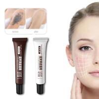 Skin Camouflage Make-Up Concealer für Tattoo, Narbe und Muttermal-Vertusche V0M7