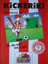 Programm 1995/96 SC Fortuna Köln - Hannover 96