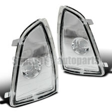 1994-1997 Chevy S10 Corner Lamps Euro Signal Lights Chrome Clear Blazer Mid Size