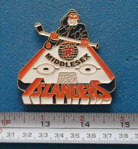 ISLANDERS MIDDLESEX QUEBEC MINOR HOCKEY PEE WEE TOURNAMENT PIN # O711