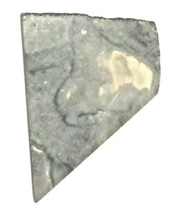 Natural tri color green marble, rough slab for cabbing,  NO PITS