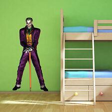 Batman Joker Multi Colour Wall Art Sticker Superhero Boys Bedroom Decal Mural