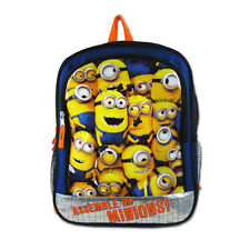 "New Despicable Me Kids Boy Girl School 16"" Bag Backpack Assemble the Minions"
