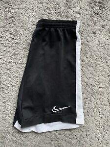 Men's Nike Black Training Football Academy Shorts - Size S