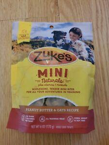 Zuke's Mini Naturals peanut butter and oats recipe 6oz