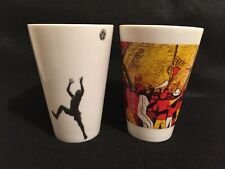 Two FIFA World Cup 2010 South Africa Mugs Cups Vuvuzela Soccer
