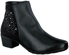 Ladies' Casual Ankle Boot Mephisto Ilsa Spark Black UK Size 4