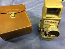 Vintage  Bell and Howell 8 mm Movie Camera  Model 252 With Case And Filter