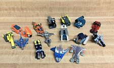 Vintage TRANSFORMERS Lot of 15 Mini Vehicles Motorcycle Miniature Plane 80s