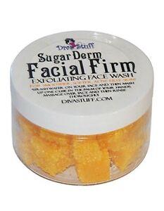 New! Sugar Derm Facial Firm,All Natural Face Scrub & Cleanser, 4 oz, Diva Stuff