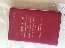 a1z original unused 1965 unused diary p humber & son
