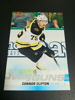 2019-20 Upper Deck Series 1 Jumbo Oversized Young Guns Connor Clifton #243