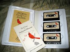 Bird Songs of Southern Minnesota &Neighboring States+BOOK&1-3TAPES--Complete SET