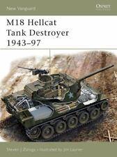 New Vanguard M18 Hellcat Tank Destroyer 1943-97 No.97 WW2 US Army Armor Military