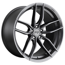 "Niche M204 22"" Inch 5x114.3 4 Wheel Rims 22x10.5 +40mm ANTHRACITE"