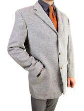 Hugo Boss Homme Herringbone Finest laine d'agneau Tweed Veste Blazer EU 54 AS14