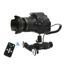 Electric Track Slider Dolly Remote Control 5V for Canon Camera Camcorder Phone