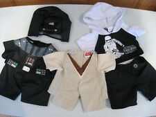 Build A Bear Star Wars clothes Obi Kenobi, Darth Vader, jeans w/hoodie t-shirt