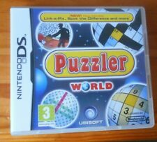 Puzzler World - Nintendo DS 2DS & 3DS - Girls & Boys Game - Complete