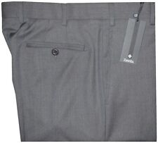 $395 NEW ZANELLA NORDSTROM DEVON GRAY PENCIL STRIPE SUPER 130'S DRESS PANTS 36