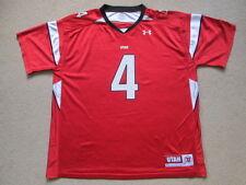 Utah Utes NCAA American Football Jersey Shirt - Youth Extra Large-Mens Small