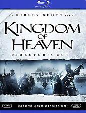 Kingdom of Heaven [Director's Cut] [Blu-ray, 2006] Ridley Scott (DIR) - USED -VG