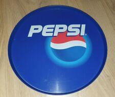 "More details for pepsi drinks serving tray plastic vintage 1990's 12"" retro bar"