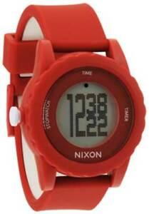 Nixon Genie Watch - Red - New