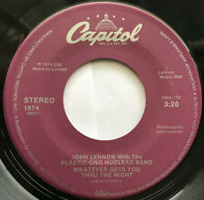 JOHN LENNON / WHATEVER GETS YOU THRU THE NIGHT / CAPITOL PURPLE LABEL 1988-91