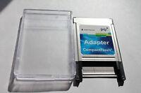 1pcs PQI PCMCIA adapter type I for SANDISK CF I memory card