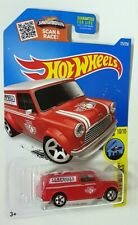 Hot Wheels 10/10 '67 Austin Mini Van Cambell's Garage Long Card Collectable Car