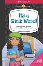 American Girl BOOK ITS A GIRLS WORD! for Girls Quiz Guide Friendship Trouble NEW