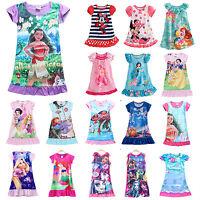 bébé fille enfants pyjama Disney Déguisement Pyjama pyjama âge 2-13 ans An