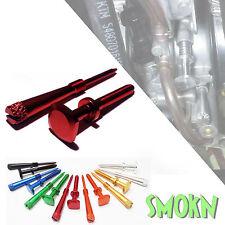 Gas Gas EC 250 300 Keihin PWK Easy Adjust Idle Screw & Air Screw Red Anodised