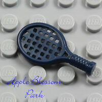 NEW Lego Minifig Dark BLUE TENNIS RACKET -Minifigure Ace Racquet Ball Sport Tool