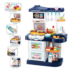 Kids Kitchen Playsets Pretend Play For Boys w/Smart Touch Screen Remote Control