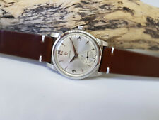 USED VINTAGE OMEGA SUB SECOND SILVER DIAL CAL:401 MANUAL WIND MAN'S WATCH