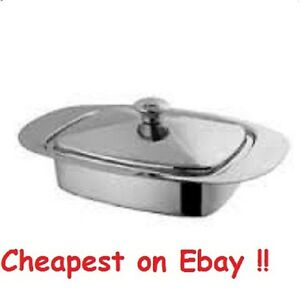 Stainless Steel Butter Dish Dishes Retro with Lid - Unbeatable Price