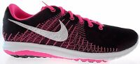 NIKE FLEX FURRY (GS) YOUTH BLACK/PINK RUNNING SHOES Size 5Y- 7Y, #705460-001
