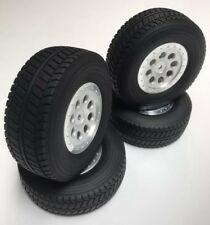 HPI Mini Trophy Desert Truck Tires Wheels (4) BFG Baja Project Replica Rare 1/12