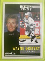 1991 Score Pinnacle #100 Wayne Gretzky LA Kings
