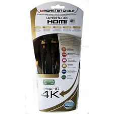Monster HDMI 4ft Ultra HD 4K Cable Advanced High Speed (1.21m) w/ Ethernet New
