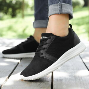 Womens Knitted Lightweight Sneakers  Memory Foam Shoes  Casual Shoes