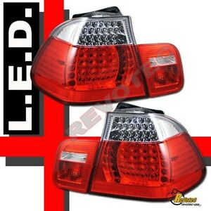 2002-2005 BMW E46 4DR Sedan 325i 325xi 330i 330xi LED Tail Lights